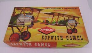 Keil-Kraft-PLASTIC-MODEL-KITS-Sopwith-Camel-avion-echelle-1-72