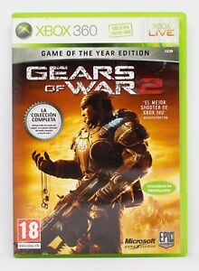 GEARS OF WAR 2 GAME OF THE YEAR EDITION - XBOX 360 XBOX360 - PAL ESPAÑA - GOTY