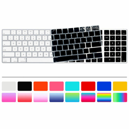 US English Silicone Keyboard Cover For Magic with Numeric Keypad A1843 MQ052LL//A