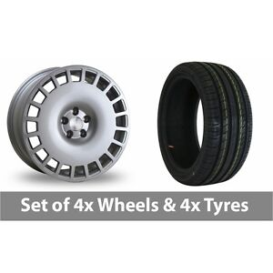 4-x-18-034-Bola-B12-Silver-Alloy-Wheel-Rims-and-Tyres-225-45-18