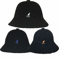 Kangol Winter Bermuda Casual Bucket Hat Cap K1931st Black White Blue Orange S-xl