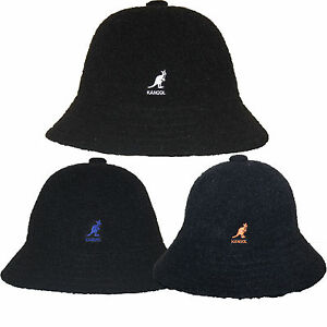 Kangol WINTER BERMUDA CASUAL Bucket Hat Cap K1931ST Black ... edf494c422d