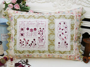 Quilting Sewing Cushion Pattern IN MY HEART Sally Giblin Rivendale New