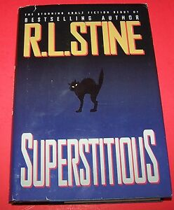 Superstitious R. L. Stine Grand Central Publishing Hardcover Book ...