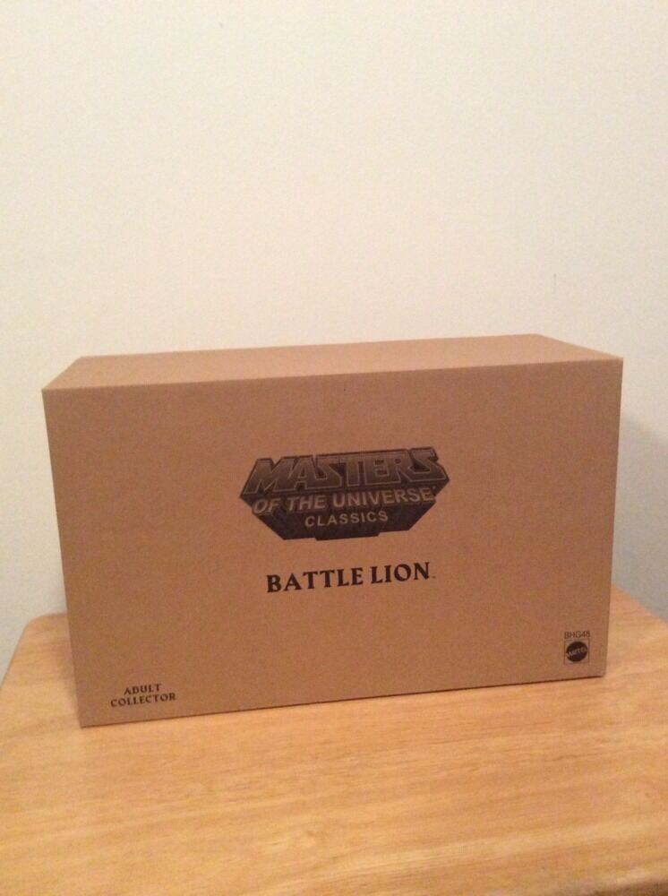 Battle Lion Figure Motuc New Sealed Masters Universe He-Man