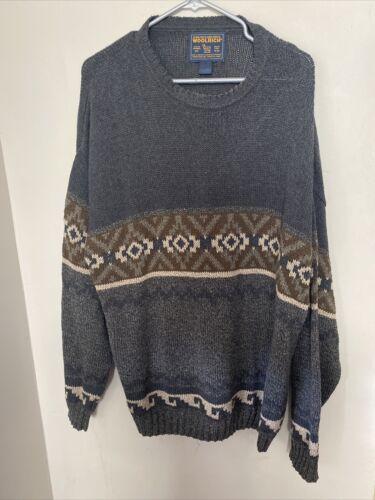 Woolrich John Rich & Bros Men XL sweater