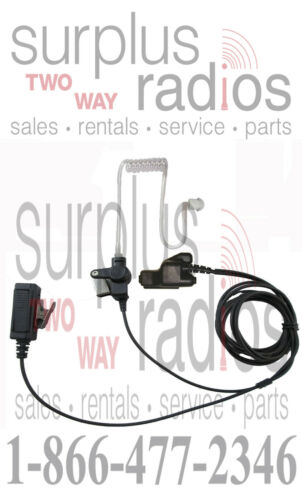 TWO WIRE SURVEILLANCE HEADSET MIC FOR MOTOROLA XTS5000 XTS3000 XTS2500 XTS1500