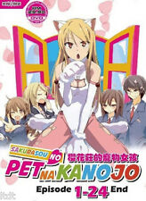 Sakurasou No Pet Na Kanojo (TV 1 - 24 End) DVD + Free Gift
