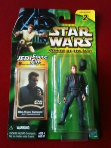 Obi-Wan Kenobi Jedi Training Gear STAR WARS Power of the Jedi POTJ MOC