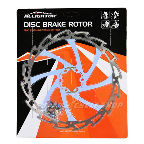 ALLIGATOR Coated Disc Brake redor,WIND CUTTER,203mm,Light bluee,151g