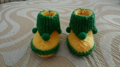 Norwich City Pixie scarpine per neonato Bnwts