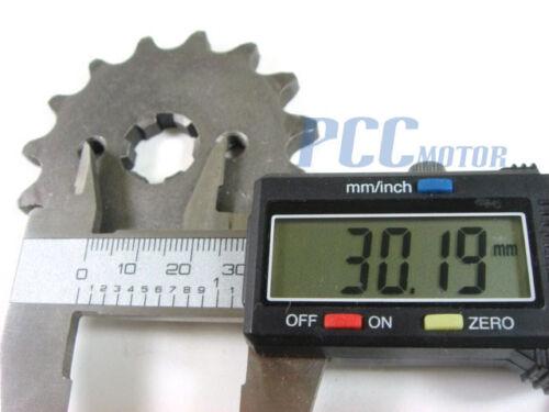 17mm Engine Sprocket Front Countershaft 15T Z50 420 Chain Mini Bike ES04