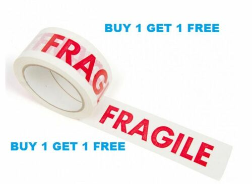 Acquista 1 ottenere 1 Gratis Fragile Nastro 48mm di larghezza x 66m di lunghezza per Roll