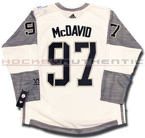 finest selection 9a822 8b16d Détails : CONNOR MCDAVID TEAM NORTH AMERICA JERSEY WHITE ADIDAS 2016 WORLD  CUP OF HOCKEY