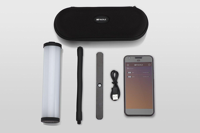 Newdirection Pêche Smart à La Carpe Bluetooth Smart Pêche Noir Hameçons Light Power cell frais dd947c