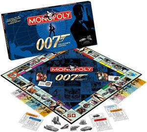 Monopoly-James-Bond-007-Collector-039-s-Edition