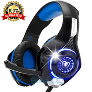 Gaming Headset With Mic Headphones for PS4 Gamers PC / Xbox one Microphone Beats
