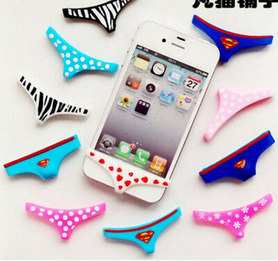 Underwear Thong Soft Silicone Home Button Case Cover For iPhone 5S 6 4S Sexy
