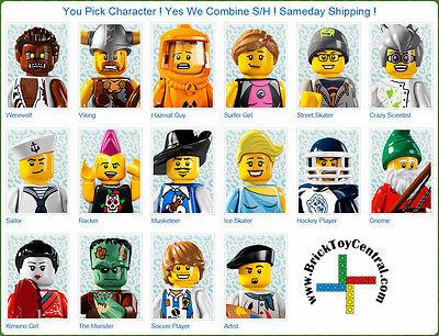 LEGO® 8804 Minifigure Series 4 YOU PICK character SAME DAY ship