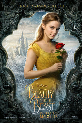"""Beauty And The Beast Emma Watson Belle Movie Poster Silk 13x20/"""" 20x30/"""" 24x36/"""""""