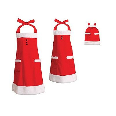Dollie & Me Girl Mommy and Doll Matching Christmas Apron Clothes American Girl