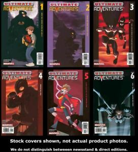 Ultimate-Adventures-1-2-3-4-5-6-Marvel-2002-Complete-Set-Run-Lot-1-6-VF