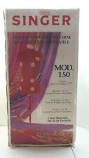 Singer Model 150 Size 10 16 13 Dial Adjustment Red Dress Form Missing 2 Legs