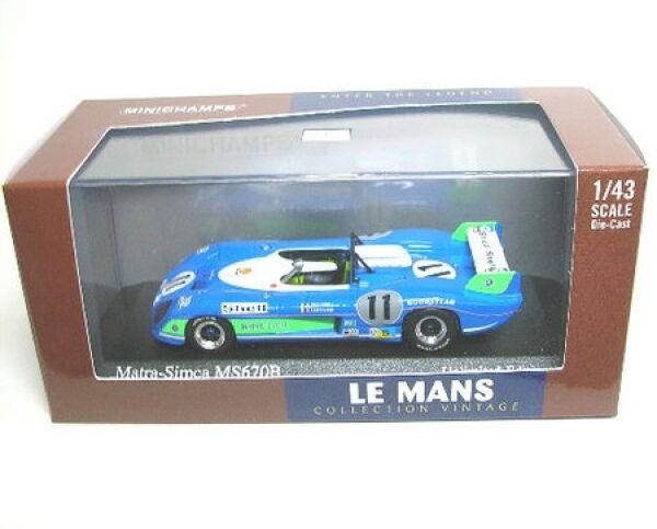 Matra-Simca MS 670 B No. 11 Winner Winner Winner LeMans 1973 7ecd84