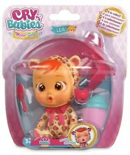 Cry Babies Magic Tears The Leopard LEA Bottle House Series Doll Mostly Sealed