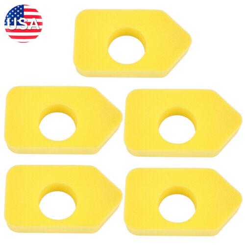 5* Yellow Foam Air Filter Fits Briggs /& Stratton 698369 4216 5088 490-200-0011