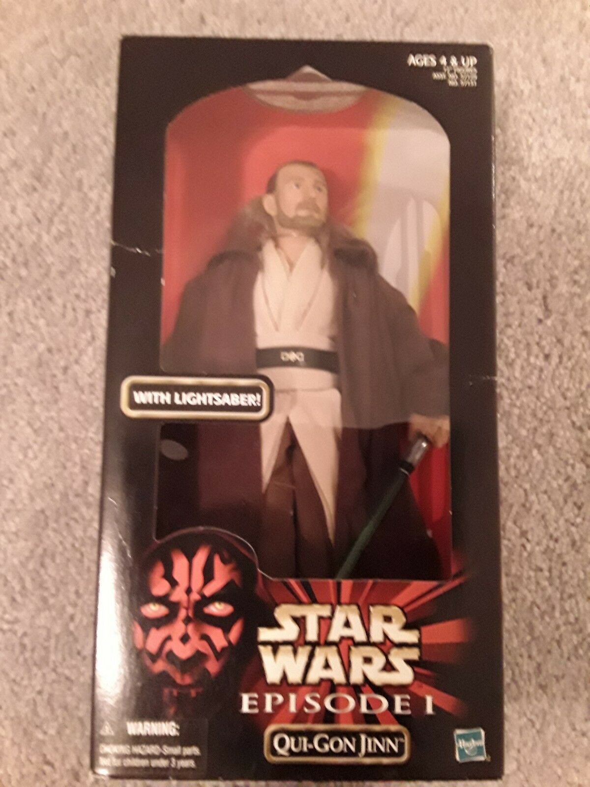 QUI-GON JINN STAR WARS ACTION COLLECTION KENNEREPISODE 1 12  ACTION FIGURE NEW