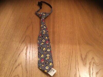 Children's Angry Birds Pre-legato Cravatta. H&m. Età 1.5 -10 Anni. Nuovo.-mostra Il Titolo Originale