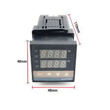 0999 Digital Pid Temperature Controller Ssr K Type Thermocouple Rex C100