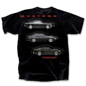 Ford-Mustang-Horsepower-BLACK-Adult-T-shirt