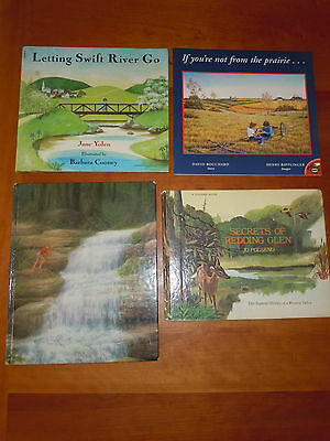 4Bks Nature To Climb Waterfall Prairie Redding Glen Letting Swift River Go EUC