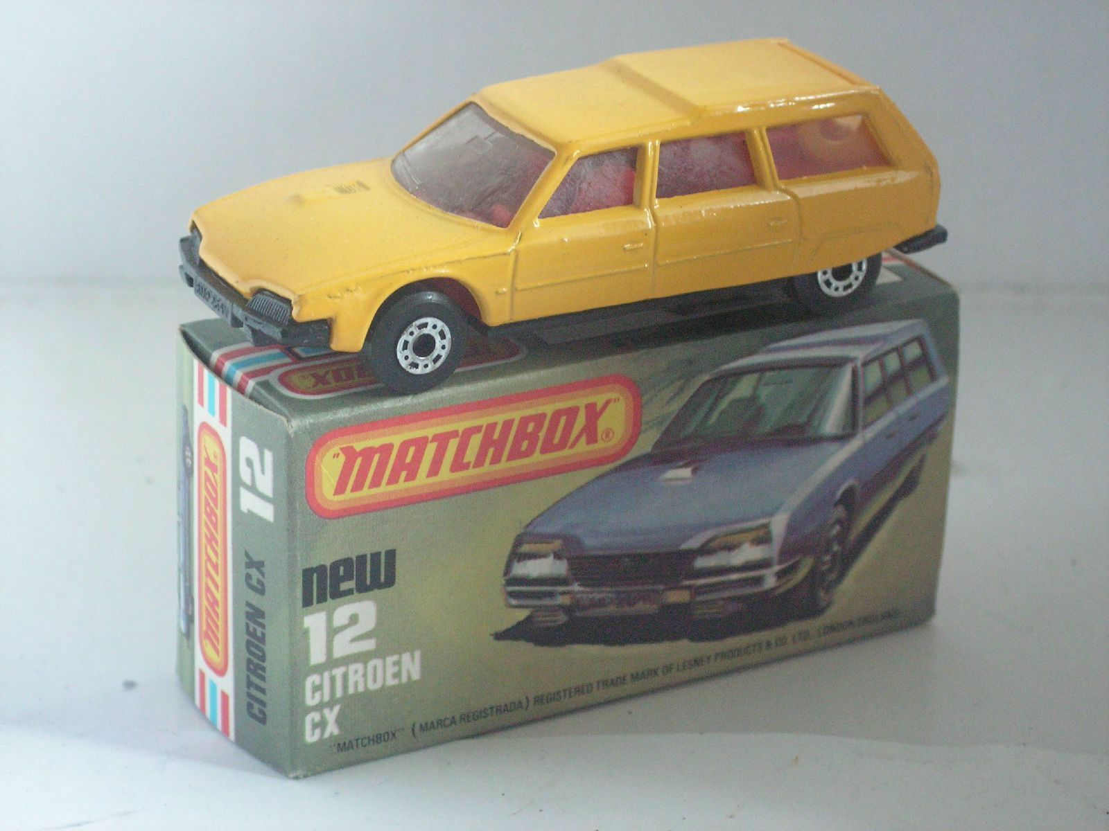 MATCHBOX SUPERFAST 12 CITROEN CX BREAK  MIB NEUF BOITE