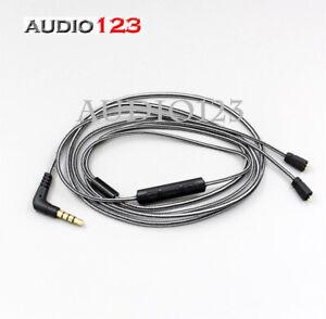SCHWARZER Ersatz 5N OFC Sennheiser IE8 IE80 IE8i Kabel Kopfhörer führen Mikrofon