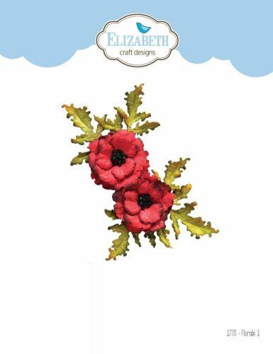 Elizabeth Craft Florals #1 Die  6pc Set