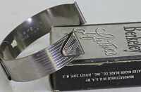 Ww2 Military Watch Cuff Band 16mm By Berkeley Usa Still In Box 18 Sold Here