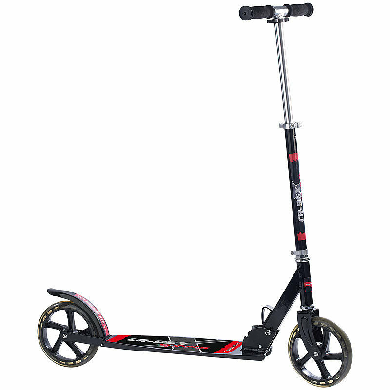 Cityroller: Klappbarer bis City-Roller CR-96X Sports mit XXL-Rädern, bis Klappbarer 100 KG c39056