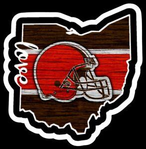 Cleveland-Browns-Magnet-Helmet-Dawg-Pound-Custom-Vinyl-NFL-Ohio-Magnet-wood