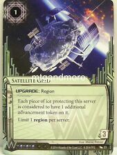 Android Netrunner LCG - 1x Satellite Grid  #023 - Order and Chaos
