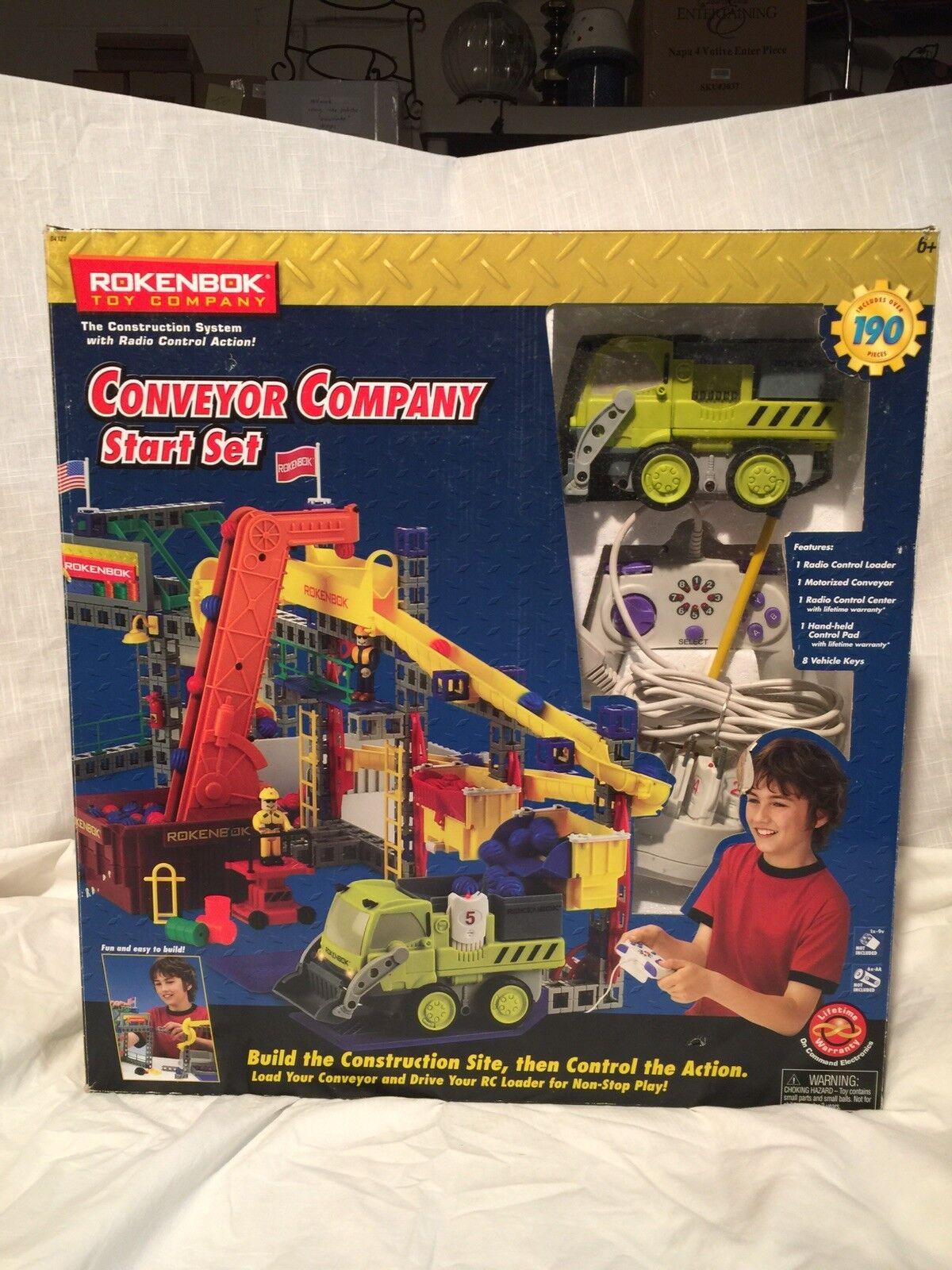 Rokenbok Conveyor Company Start Set Rare  EUC in box