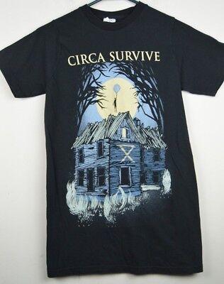 5XL Circa Survive Rainbow American Rock Band Alternative Men/'s T-Shirt Size S
