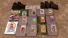 Huge Video Game lot Nintendo NES N64 GameCube GCN Mario Kart TESTED & FREE SHIP!