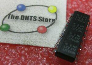 2H4-LTV817 LiteOn Quad Opto-Coupler Optoisolator 16-Pin DIP NOS Qty 1