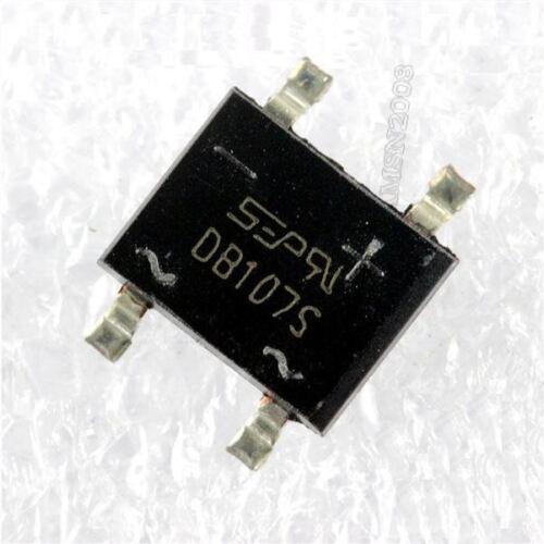 10 Stücke Smd DB107 DB107S 1A 1000 V Einphasendiodengleichrichter Brücke np