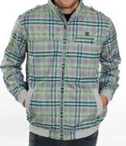 New DC Size S Coat 36-38 chest windcheater style mens check jacket