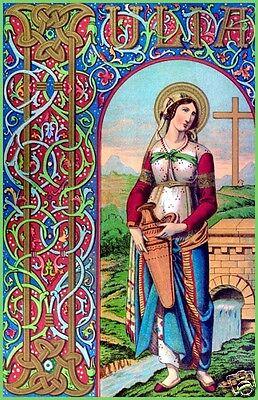 SANTINO HOLY CARD SANTA GIULIA
