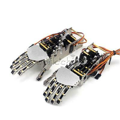 5 DOF 5 Fingers Humanoid Manipulator Arm Right Hand + 5pcs Servos DIY for Robot